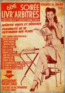Soirée-dédicace le 18 janvier prochain sur Paris 6eme-soiree-livrarbitres-flyer1-212x300